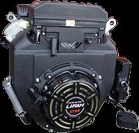 Бензиновый двигатель LIFAN 2V78F-2А PRO (с катушкой 12V 3А) 27,0 л.с., электростартер [2V78F-2A PRO (3А)], фото 1