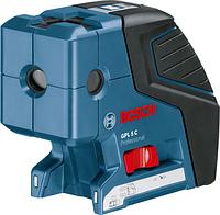 Точечный лазерный уровень BOSCH GPL 5 C [0601066300] 4х1,5 В (AA), чехол, мишень
