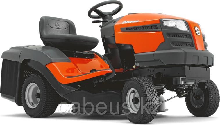 Садовый трактор HUSQVARNA ТС 130 с травосборником [9605101-23]