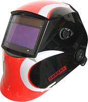 Маска сварщика AURORA SUN7 Красно-черная [10623]