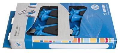 Набор шарнирно-губцевого инструмента в картонной упаковке - 402C4 UNIOR