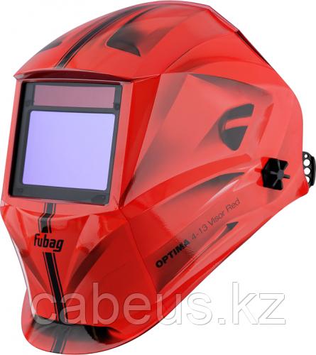 Маска сварщика FUBAG OPTIMA 4-13 Visor Red [38437]