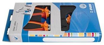 Набор шарнирно-губцевого инструмента в картонной упаковке - 402C5 UNIOR