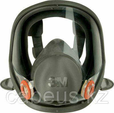 Полнолицевая маска 3M Серия 6000 6700, размер - малый (S) без фильтров [7100015974]