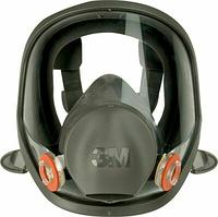 Полнолицевая маска 3M Серия 6000 6700, размер - малый (S) без фильтров [7100015974], фото 1