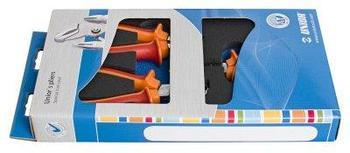 Набор шарнирно-губцевого инструмента в картонной упаковке - 402C6 UNIOR
