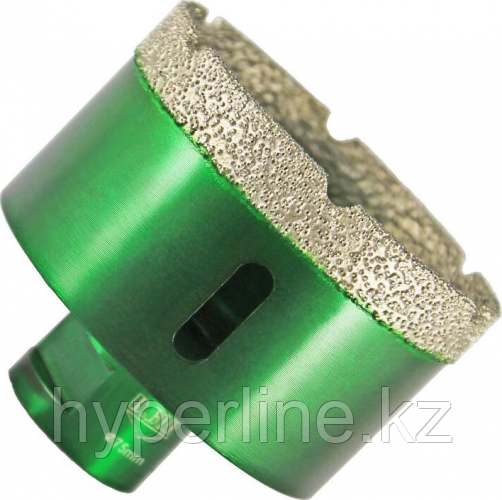 Алмазная коронка для сухого сверления D.BOR KERAMOGRANIT-DRY 75х60 мм М14 [D-KG-D-075-014]