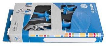 Набор шарнирно-губцевого инструмента в картонной упаковке - 402C7 UNIOR
