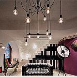 Лампы накаливания Эдисона 40 ватт, 10 см.  лампы ретро-стиля, ретро лампы, винтажные лампы, старинные лампы, фото 5