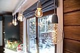 Лампы накаливания Эдисона 40 ватт, 10 см.  лампы ретро-стиля, ретро лампы, винтажные лампы, старинные лампы, фото 9