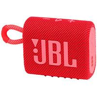 Колонка порт. JBL GO 3 красный 3W 1.0 BT (JBLGO3RED)