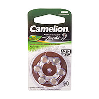 Батарейки А312 Camelion