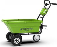 Садовая тележка аккумуляторная GREENWORKS G40GCK4 [7400007UB]