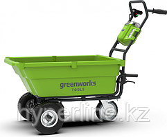 Садовая тележка аккумуляторная GREENWORKS G40GC без АКБ и ЗУ [7400007]