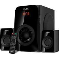 SVEN Колонки MS-2020, черный (55W, FM, USB/SD, Display, RC, Bluetooth)