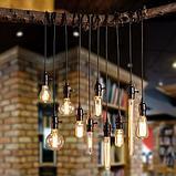 Лампы накаливания Эдисона 40 ватт.  лампы ретро-стиля, ретро лампы, винтажные лампы, старинные лампы, фото 4