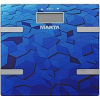 Весы напольные MARTA MT-1675, Blue sapphire