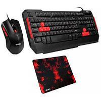 Игровой набор клавиатура+мышь+коврик SVEN GS-9000