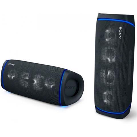 Портативная колонка Sony SRS-XB43 черный - фото 4