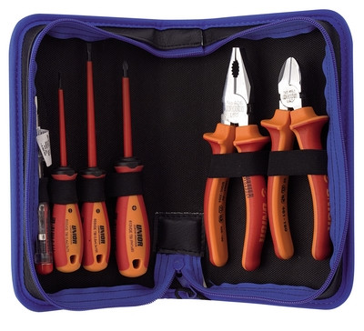 Набор инструментов изолированных с рукоятками BI в сумке - 906VDEBI UNIOR