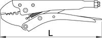 Плоскогубцы электрика (клеммник) фиксирующие - 426/3B UNIOR, фото 2