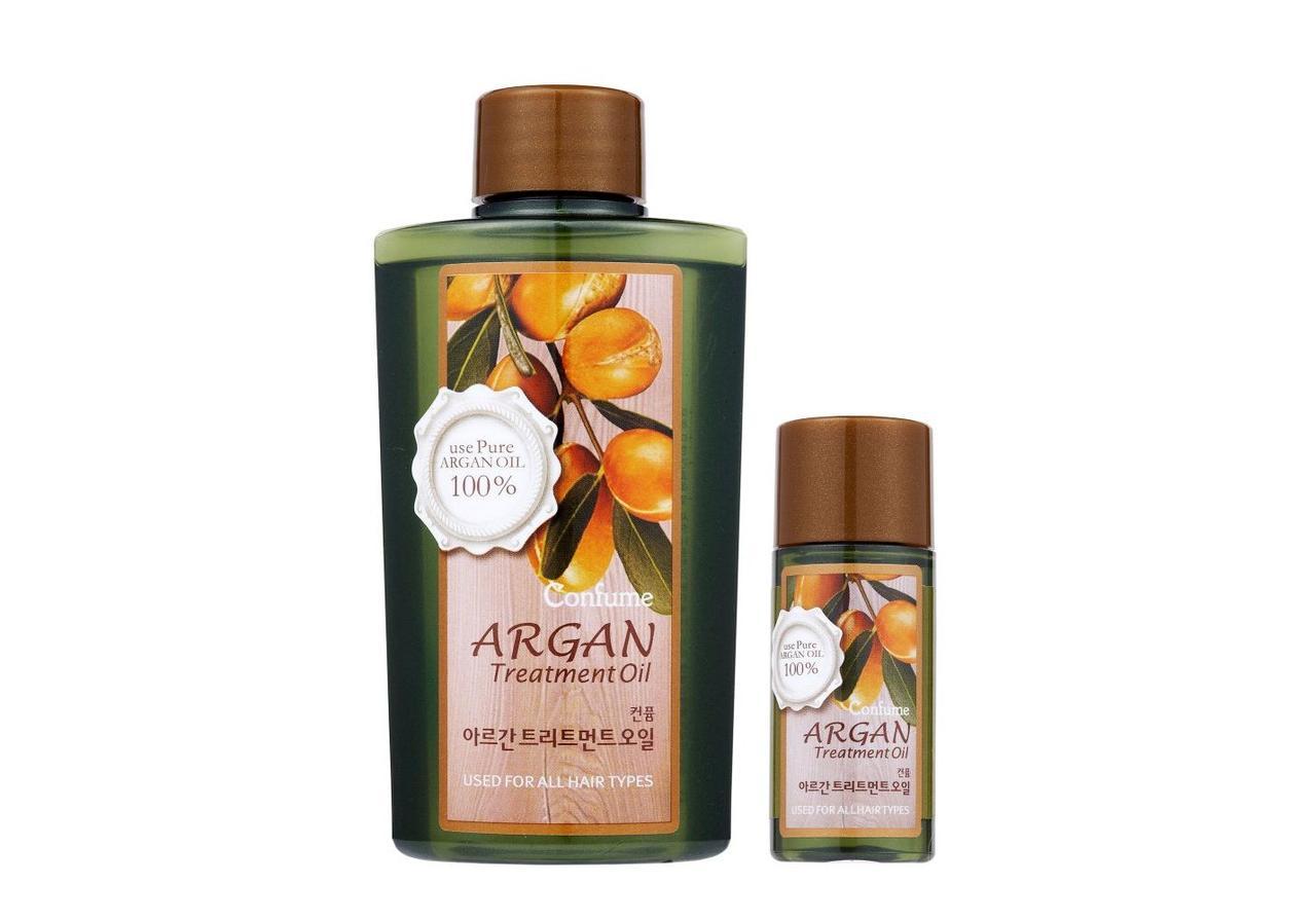Масло аргановое для волос Confume Argan Treatment Oil, Welcos 120 мл/25 мл