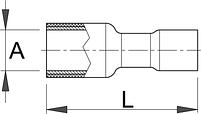 Клемма насаживаемая (20 шт.) - 423.5B UNIOR, фото 2