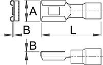 Клемма комбинированная (20 шт.) - 423.9R UNIOR, фото 2