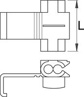 Соединение быстрое (20 шт.) - 423.11R UNIOR, фото 2