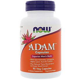 ADAM мультивитамины для мужчин №90 капс. NOW