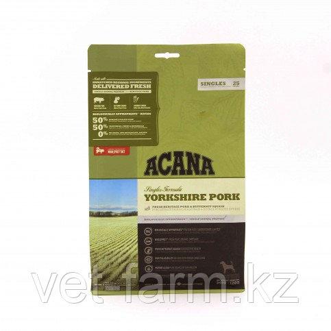 ACANA Yorkshire Pork СВИНИНА Корм Для Собак Всех Пород И Возрастов, 340 G