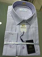 Рубашка классическая Cardozo светло-сиреневая