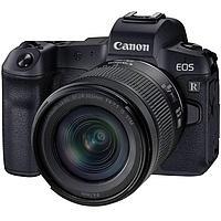 Цифровой фотоаппарат Canon EOS R Kit (RF 24-105mm f/4-7.1 IS STM) + гарантия 2 года + страховка