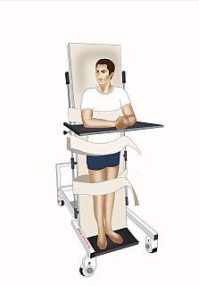 Кровать-вертикализатор