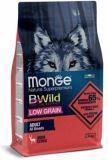 Monge BWild (Олень) 2,5кг Низкозерновой Корм для взрослых собак всех пород Low Grain Deer All Breeds Adult