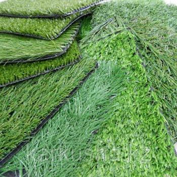 Искусственный газон для тренировочных футбольных полей высотой ворса от 40 мм до 55 мм