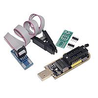 CH341A программатор EEPROM с USB (UART, I2C, SPI) в наборе