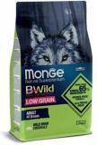Monge BWild (Дикий кабан) 2,5кг низкозерновой корм для взрослых собак всех пород Low Grain Wild Boar All Breed