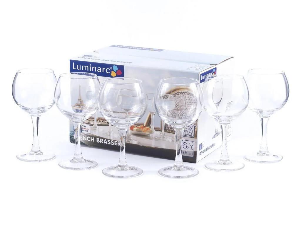 Набор фужеров для вина Luminarc FRENCH Brasserie 280 мл. (6 штук)