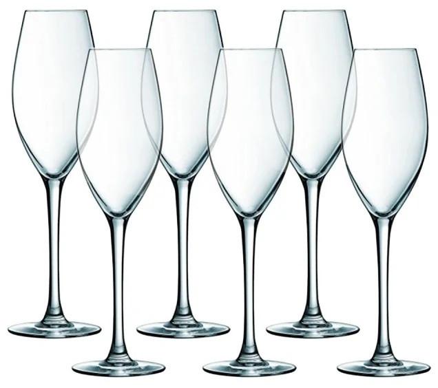 Набор фужеров для шампанского Luminarc Wine Emotions 240 мл. (6 штук)