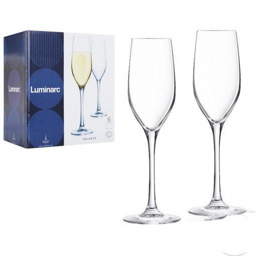 Набор фужеров для шапмпанского Celeste 160 мл. (6 штук)