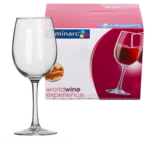 Набор фужеров Luminarc World Wine 260 мл. (6 штук)