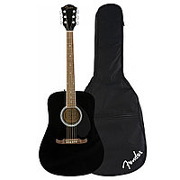 Акустическая гитара Fender Squier FA-125 Dreadnought Black Walnut