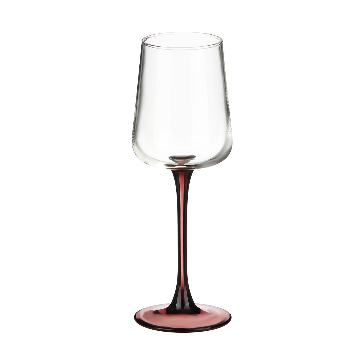 Набор фужеров для вина Luminarc Contrasto Lilac 350 мл. (6 штук)