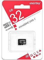 Карта памяти microSD SmartBuy SDCL10-00LE (32Gb Class 10 U1)