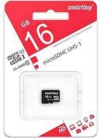 Карта памяти microSD SmartBuy SDCL10-00LE (16Gb Class 10 U1)