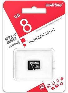 Карта памяти microSD SmartBuy SDCL10-00LE (8Gb Class 10)