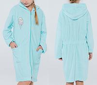 Batik Халат для девочки односторонняя махра (02680_BAT)