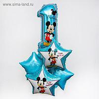 """Набор фольгированных шаров «Happy Birthday», Микки Маус 25"""""""