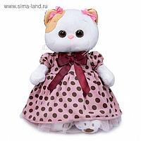 Мягкая игрушка «Ли-Ли в розовом платье в горох», 24 см